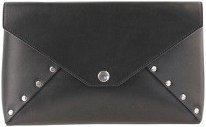 Céline Biker Wallet Strap Clutch Studded Shoulder Bag