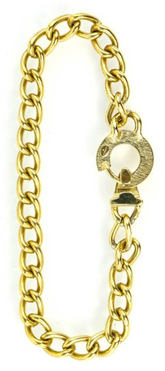 Givenchy Givenchy Gold Tone Chain Accessory Necklace
