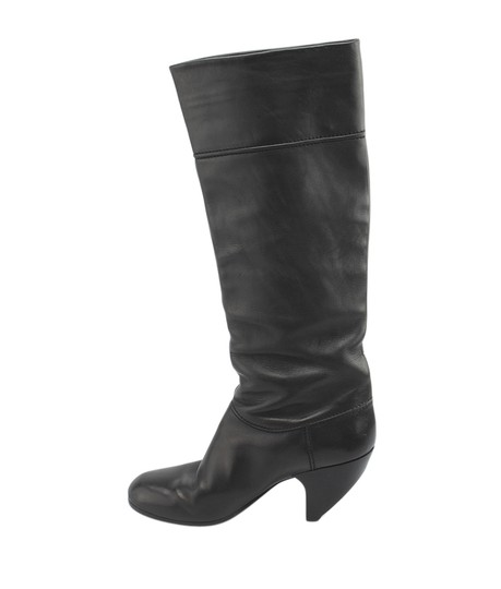 Marc Jacobs Mid - Calf Leather Black Boots