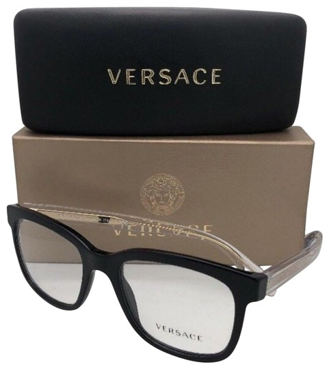 Preload https://img-static.tradesy.com/item/23143875/versace-new-mod3239-gb1-54-20-145-black-gold-clear-transparent-frame-sunglasses-0-1-540-540.jpg