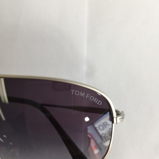 Tom Ford 2018 TF 467 17W Silver Metal Gradient lenses 60mm