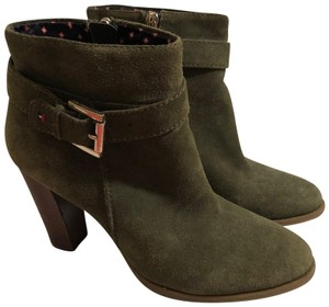 Tommy Hilfiger green Boots