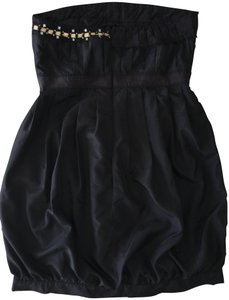 VILA Embellished Bubble Effect Gucci Chanel Prada Dress