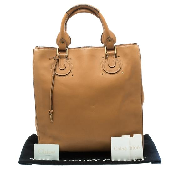Preload https://img-static.tradesy.com/item/23144035/chloe-paddington-pure-tan-leather-and-fabric-tote-0-0-540-540.jpg