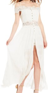 ivory Maxi Dress by GB
