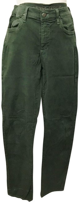 Item - Green Stretch Style 1473-440 Straight Leg Jeans Size 27 (4, S)