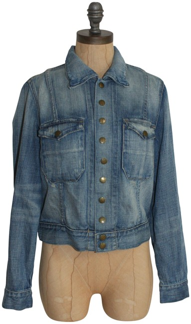Item - Blue The Snap Jacket Size 2 (XS)