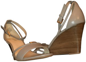 Nine West Grey and neutral Wedges