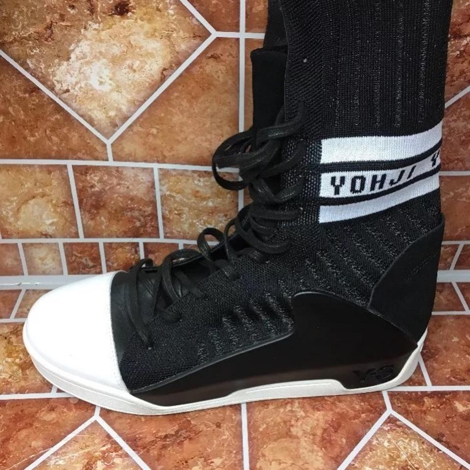 cheap for discount 908fa 97eae Y-3 Sold Out Hayworth Guard Knit 9.5d -black White-af6296-rare Yohji  Yamamoto Sneakers Size US 9.5 Wide (C, D) - Tradesy