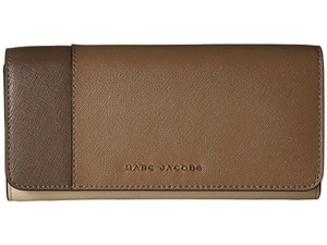 Marc Jacobs Marc Jacobs Saffiano Colorblocked Standard Continental Flap Wallet