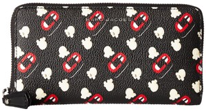 Marc Jacobs Marc Jacobs Popcorn Scream Printed Standard Continental Wallet