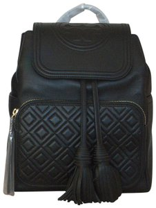 Tory Burch Leather Fleming Handbag Backpack