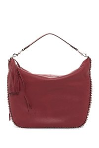 Rebecca Minkoff Leather Curb Chain Tassels Hobo Bag