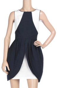 Thread Social short dress Navy Blue, White on Tradesy