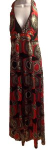 red Maxi Dress by Charlotte Russe