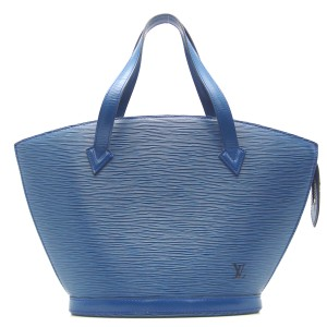 Louis Vuitton Lv Epi Leather Tote in Blue