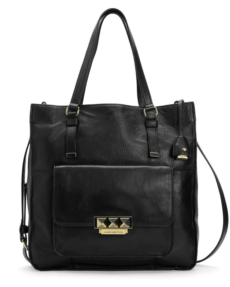 juicy couture rockstar large bag black leather tote tradesy. Black Bedroom Furniture Sets. Home Design Ideas