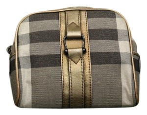Burberry GOLD CHECK/NOVA CHECK Clutch
