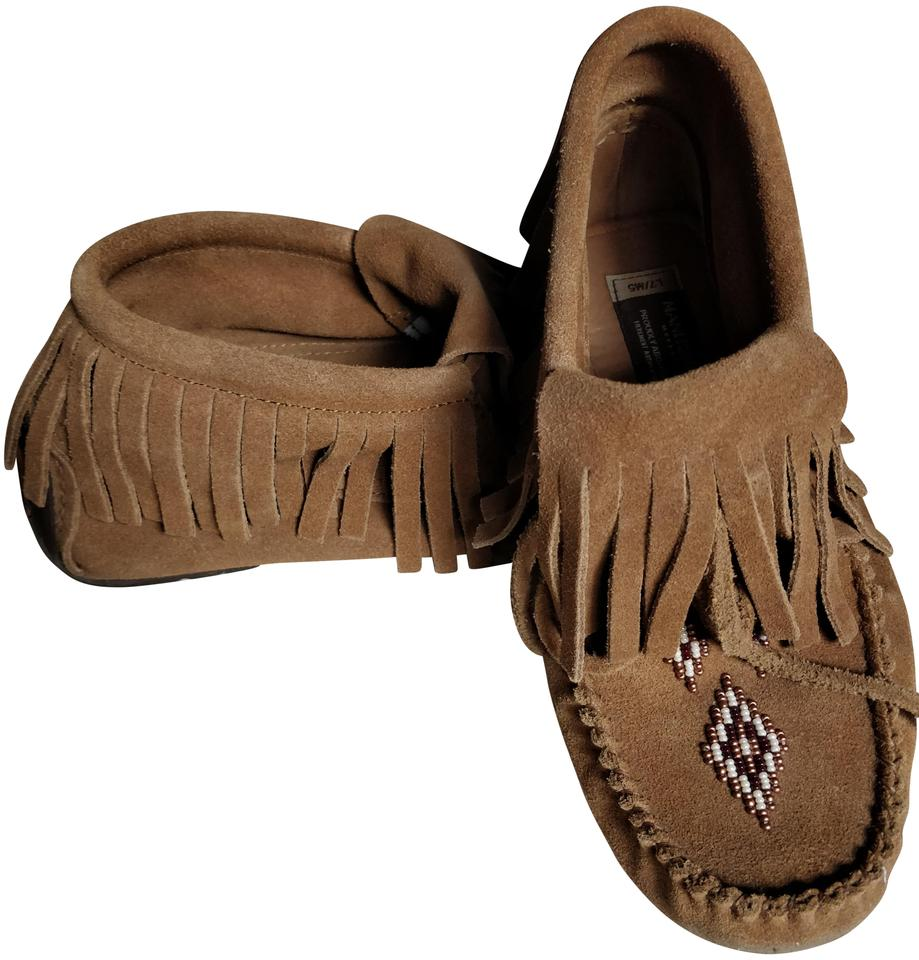 Brown Mukluks Boots/Booties Paddle Suede Moccasin Vibram Boots/Booties Mukluks 3ecf7e