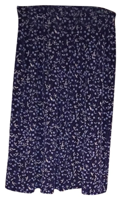 Northern Reflections Skirt Blue