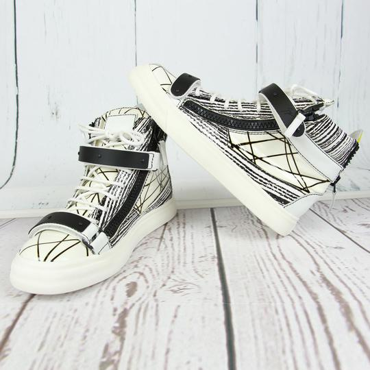 Giuseppe Zanotti For Women Sneakers Wedge Sneakers White Athletic
