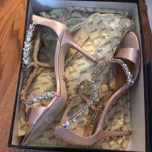 Badgley Mischka Blush Caress Pumps Size US 8.5 Regular (M, B)