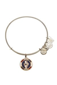 Alex and Ani Alex-and-Ani-Team-USA-Flame-Expandable-Wire-Bangle-Bracelet-Authentic
