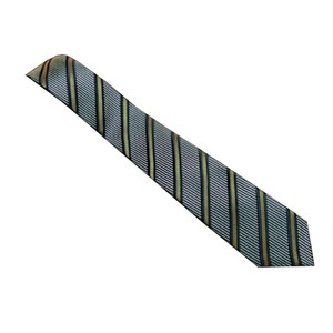 Gucci Gucci Men's Blue/Yellow Striped Necktie 408862