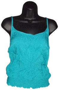 Socialite Smocked Tillys Top Teal