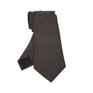 Gucci Gucci Men's Brown G Necktie 325875