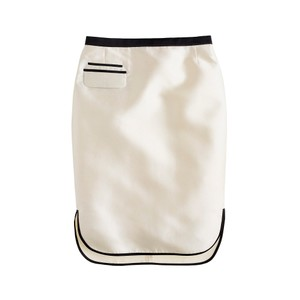 J.Crew Holiday Pencil Party Skirt Ivory