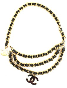 Chanel Extremely RARE Oversize XXXL CC triple chain two way necklace belt