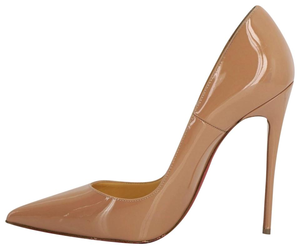604bed15a7e Christian Louboutin Beige Nude Patent Leather So Kate Pumps Size EU 35.5  (Approx. US 5.5) Regular (M, B) 29% off retail