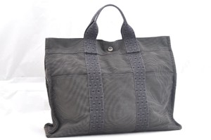 Hermès Her Line Mm Hand Tote in Gray