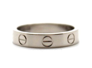 Cartier 18K gold Love band ring size 48 4mm wide