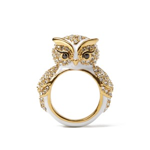 Kate Spade BRAND NEW Kate Spade Star Bright Wise Owl Cocktail Ring - Sz 7