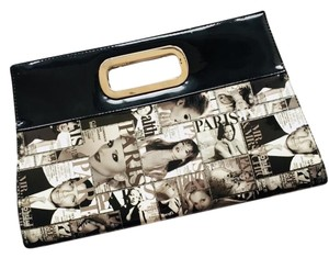 Olivia Miller Black and White Clutch