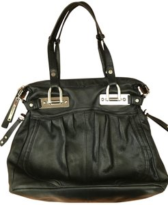 B. Makowsky Purse Leather Designer Tote Shoulder Bag