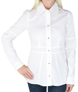 Louis Vuitton Blouse Lv Clothes Made In Italy Shirt Button Down Shirt White