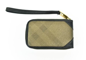 Burberry Leather Ziparound Card/Phone