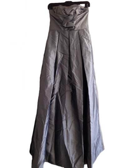 Preload https://item1.tradesy.com/images/priscilla-of-boston-silver-taffeta-strapless-gown-formal-bridesmaidmob-dress-size-2-xs-2314820-0-0.jpg?width=440&height=440