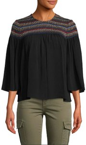 Plenty by Tracy Reese Top Black/Multi