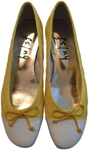 French Sole Yellow Flats