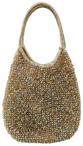 Anteprima Party Iridescence Limited Edition Iridescence Color Satchel in gold