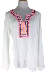Lilly Pulitzer Dahle Embroidered Tunic