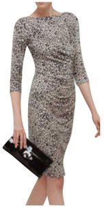 L.K. Bennett Wildeve Animalprint Midi Dress