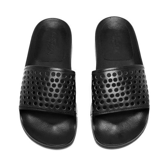 Preload https://img-static.tradesy.com/item/23148921/loeffler-randall-black-cat-pool-perforated-slides-flats-size-us-5-regular-m-b-0-0-540-540.jpg