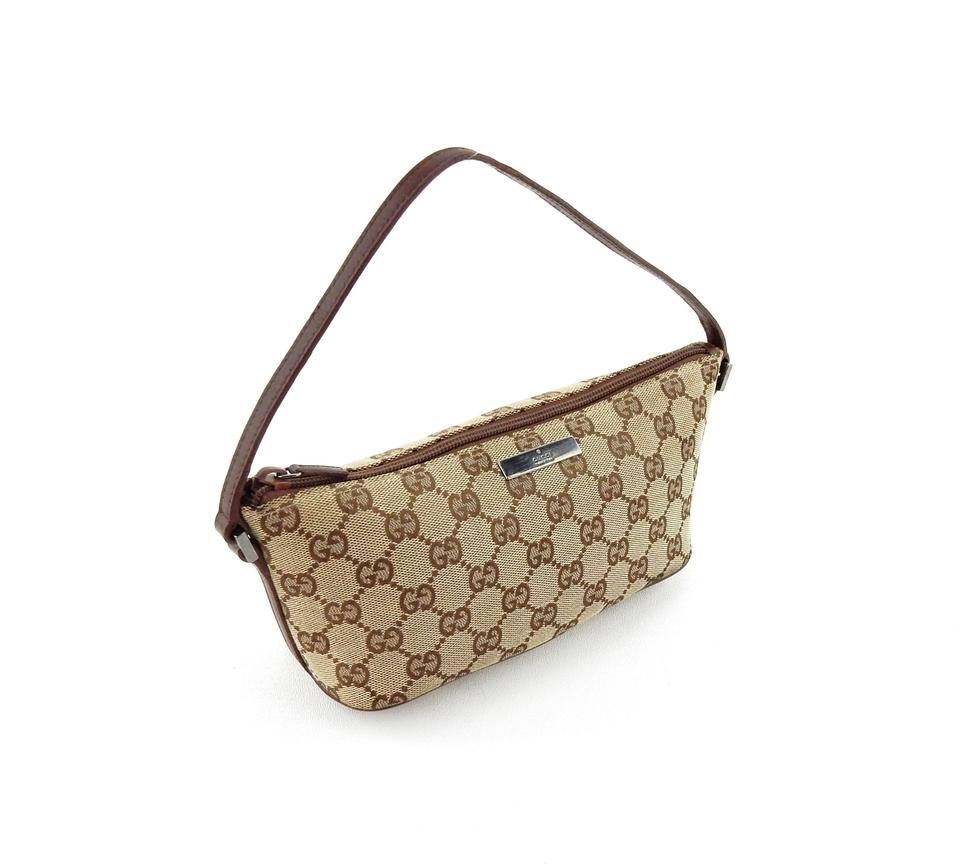 f2b50a6a3ded Gucci Shoulder Bag Pochette Accessories Mini Brown Gg Monogram ...