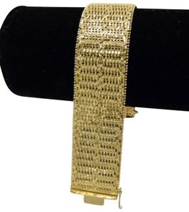 Veronese Collection Veronese Collection 18kt Clad Woven Bracelet Size 7-1/2