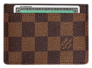 Louis Vuitton Damier Ebene Card ID Holder